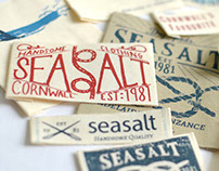 On Garment Branding for Seasalt Cornwall