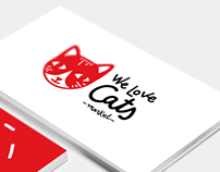 Identidad Gráfica We Love Cats Market