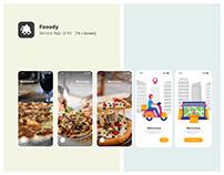 Fooody Service Ui Kit [75+ Screen]