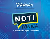 Noticiero Notifónica de Telefónica Ecuador