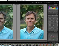 Lightroom color-correcting