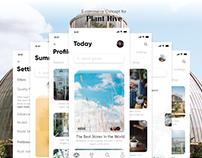Plant Hive Concept App