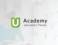 Uacademy - Learning Management System PSD Template