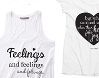 Bridesmaids t-shirts