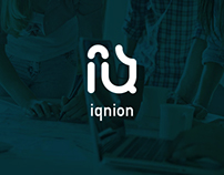 """Iqnion"" logo"