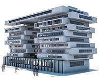 "Office Building ""Parametric Environmental Design"""