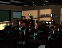 Classroom Model and Lighting