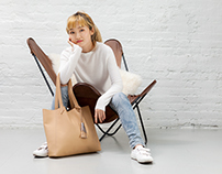 Look book images for Shana Luther Handbags, Fall 2016