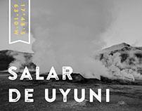 Salar de Uyuni (Black & White)