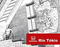 """""""Acessibilidade Surreal"""", da 3AWW para Honda Rio Tókio."""