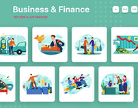 M195_Business Illustrations