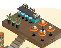 Brewery Isometric Illustration