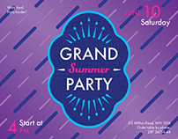 Summer Party | Modern and Creative Templates Suite