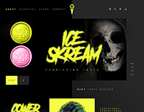 Ice Skream, Website