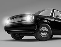 1984, CG/3D Car