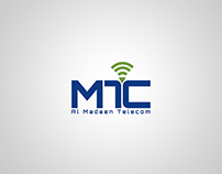 logo al madaen Telecom co.