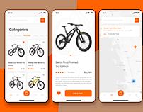 Bikes Selling App Design