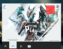 Warframe | The Launcher Within UI Design
