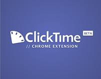 ClickTime Chrome Extension (BETA)