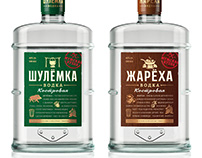 Shulyomka and Zharyokha Vodka