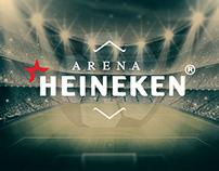 Arena Heineken - Ambientação
