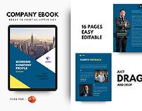 New company profile 2021 template