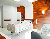 Hospital Suite Room İnterior Design