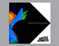 Arctic Monkeys Album Cover - Redesign & Photography