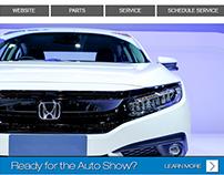Honda & Acura OEM Email Designs