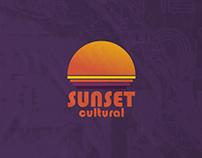comunicação visual // evento sunset cultural