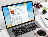 Healthy Reno Mobile Responsive Website Design Template