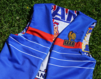 ELDEJO x France Football Tribute Vest