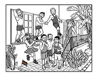 Celebrating Pride! Commissioned Illustration