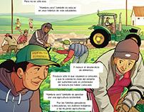 ODS Agenda 2030 REDONGMAD - Cómic e ilustración