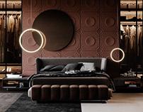 Bedroom in Dubai
