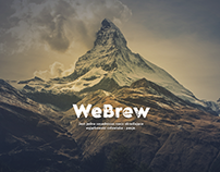 Webrew coffee website