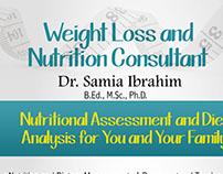 Weightloss Clinic Poster Design