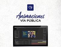 Animaciones para campaña de USIL