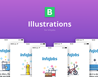 Illustrations for InfoJobs