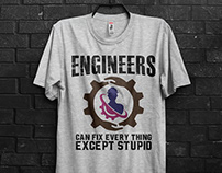 Engineer T-shirts bundle
