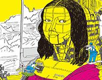 機械畫的蒙娜麗莎 Machine Lisa