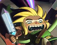 FanArt - Legend of Zelda (Nintendo DS version)