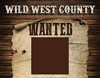 Wild West County Poster