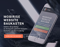 Mobirise Bootstrap Builder - New German Site!