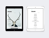 Ipad&Tablet All Aboard Magazine