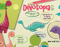 Dinotopia bundle on Hungryjpeg