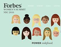 Forbes Women's Summit Responsive Website