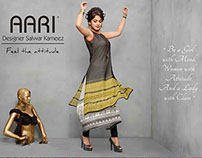 CAMPAIGN FOR AARI WOMANS WEAR