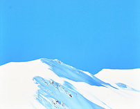 Mountain top, 2015, 80x80 cm, oil on canvas