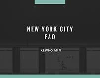 Kewho Min | New York City: FAQ